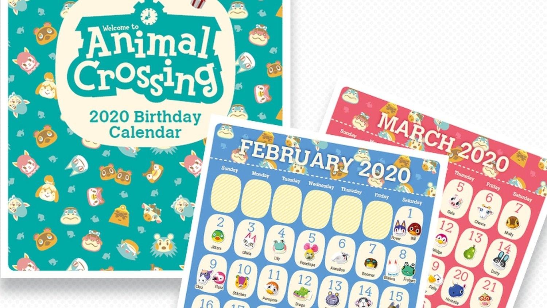 Nintendo Releases Printable Animal Crossing Birthday