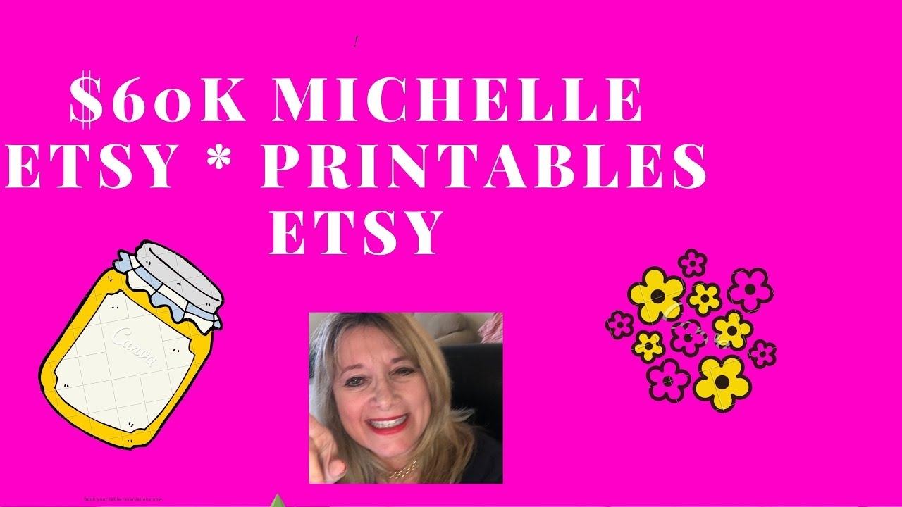 Passive Income With Printables/planners Michelle $60K - Student Case  Studies & Review Piwp Income
