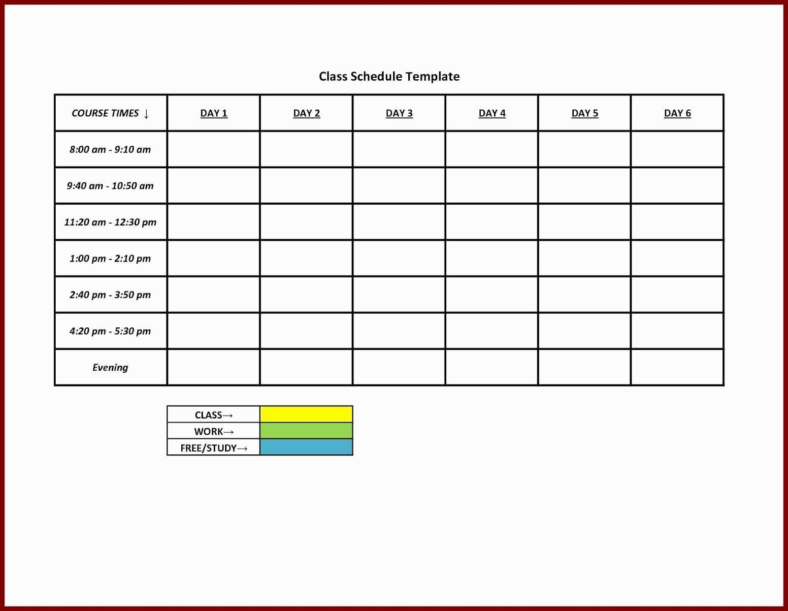 Printable Employee Schedule Template Best Of Blank Weekly