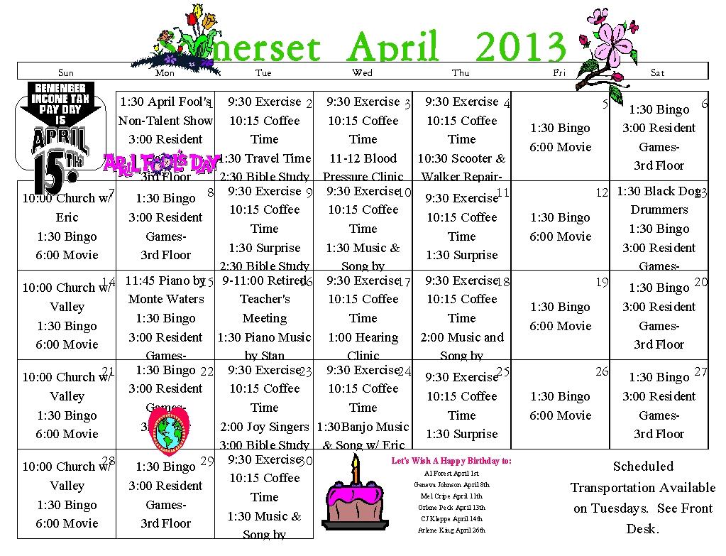 Senior Events, Senior Activities, Senior Fun, Senior