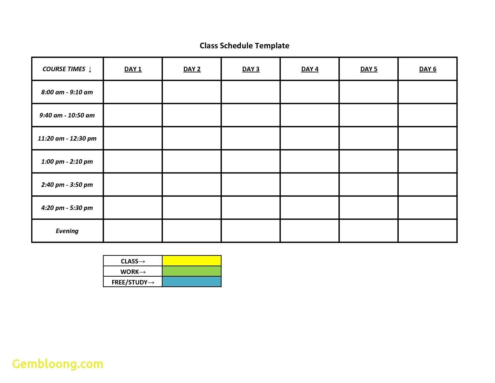 Spreadsheet Employee Schedule Scheduling Free Excel