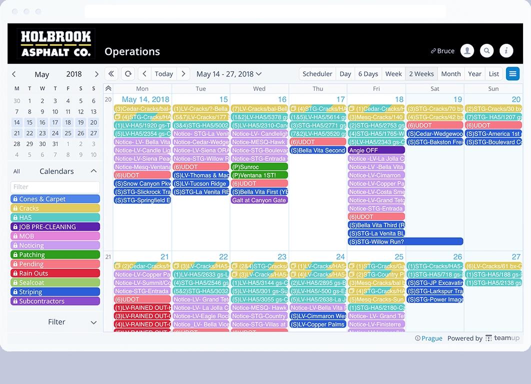 Teamup Calendar - Free Shared Online Calendar For Groups