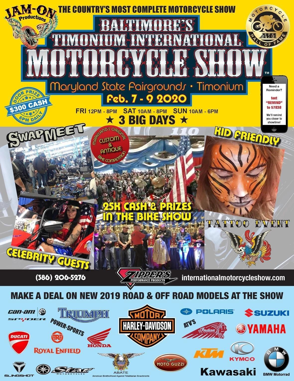 Timonium International Motorcycle Show | Community Events