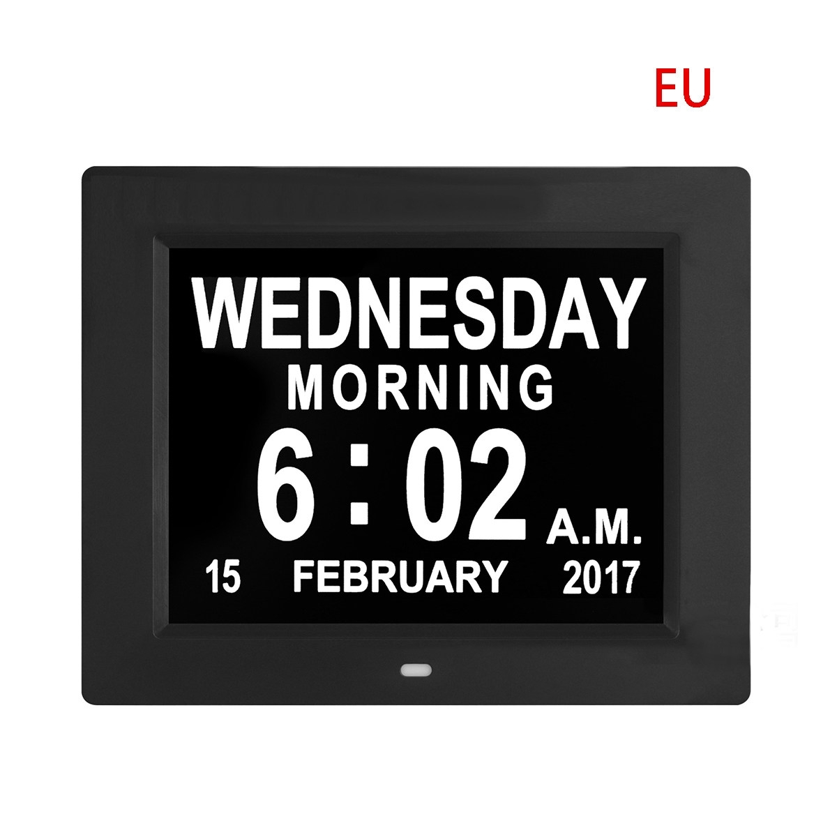 Us $38.08 18% Off|Digital Day Clock Led Calendar Dementia Alarm Time Date  Month Year Memory Loss Lectronic Extra Large Digital Clock|Alarm Clocks| -