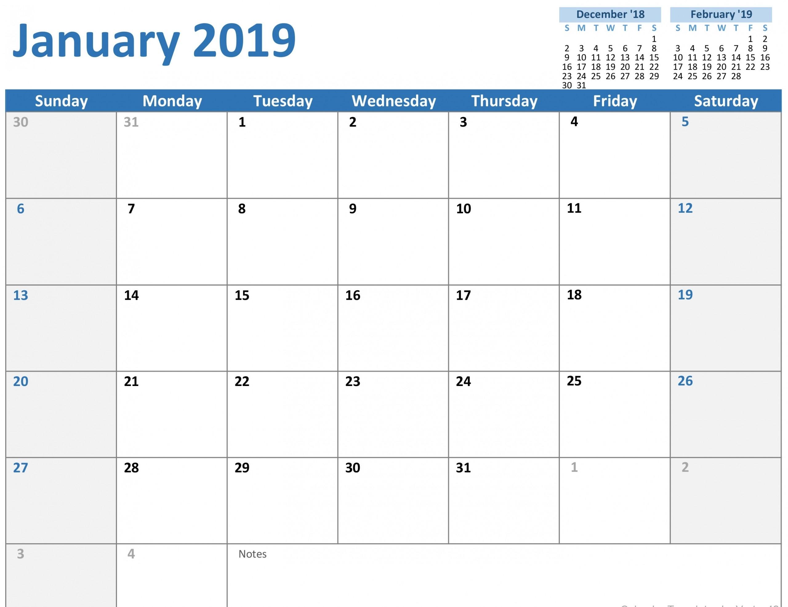 3 Month Calendar Template Word | Monthly Calendar Blank 2020