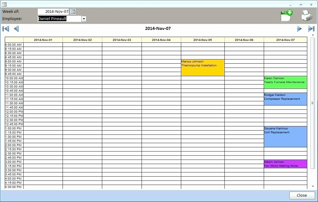 Lovely Microsoft Access Schedule Template | Audiopinions Document Template
