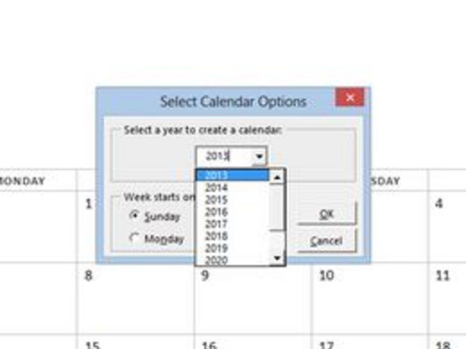 Microsoft Word Calendar Wizard – Calendar Template 2019
