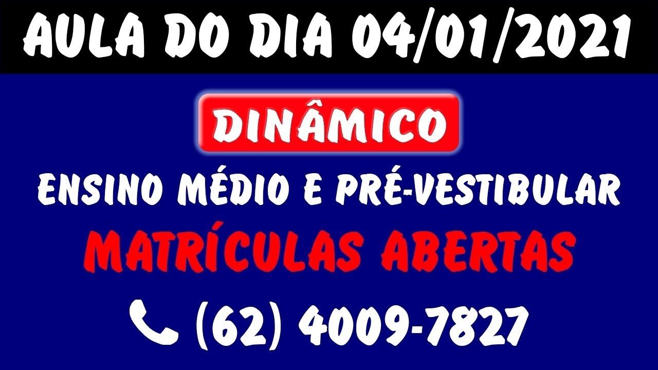 04/01/2021 - Maratona 2020 - Juliano (Vespertino) - Youtube