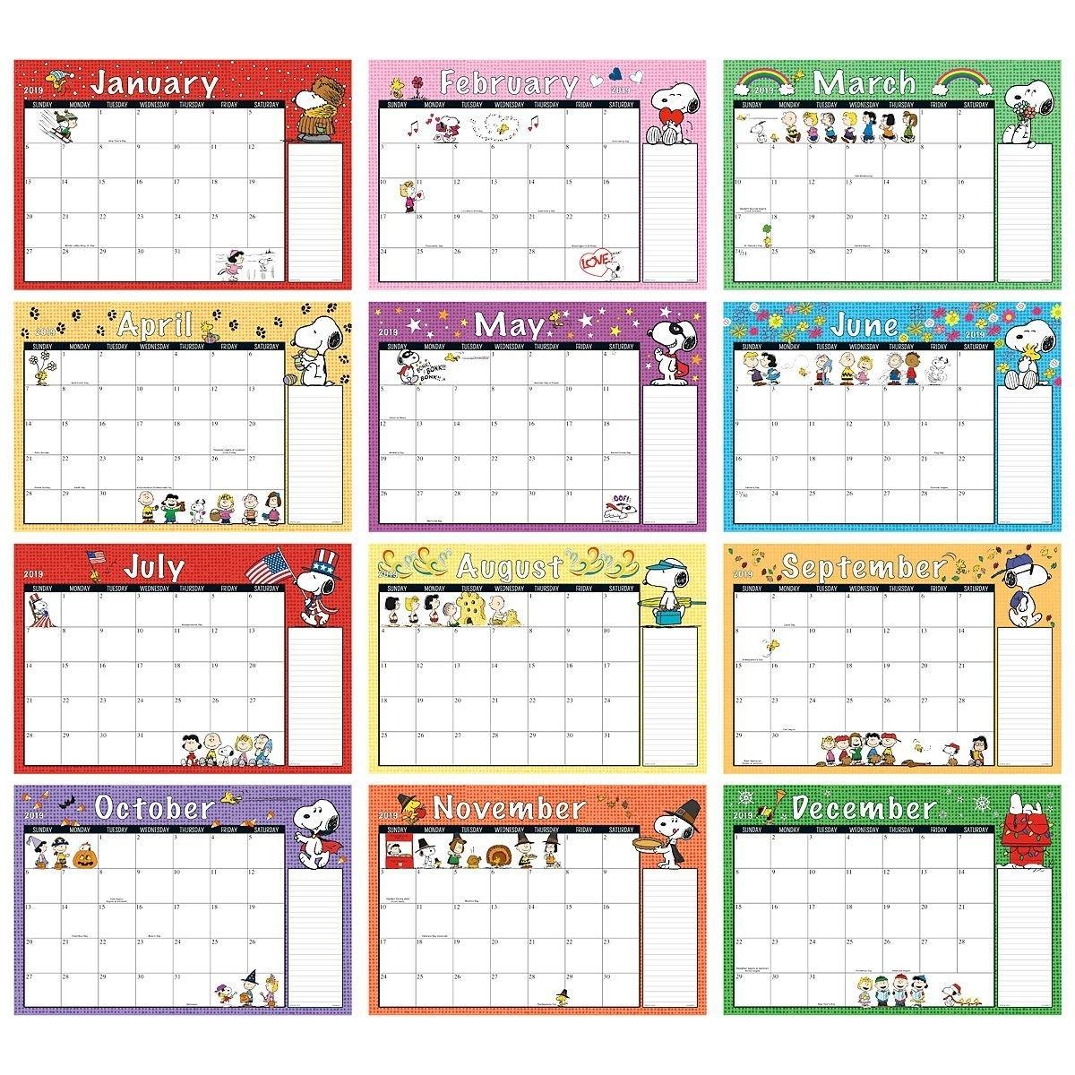 2019-2020 Peanuts® Calendar Pad | Current Catalog | Planner