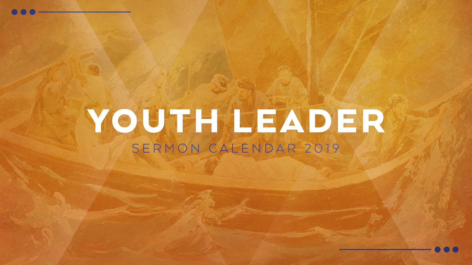2019 Youth Sermon Calendar | Ministry Pass Sermon Series