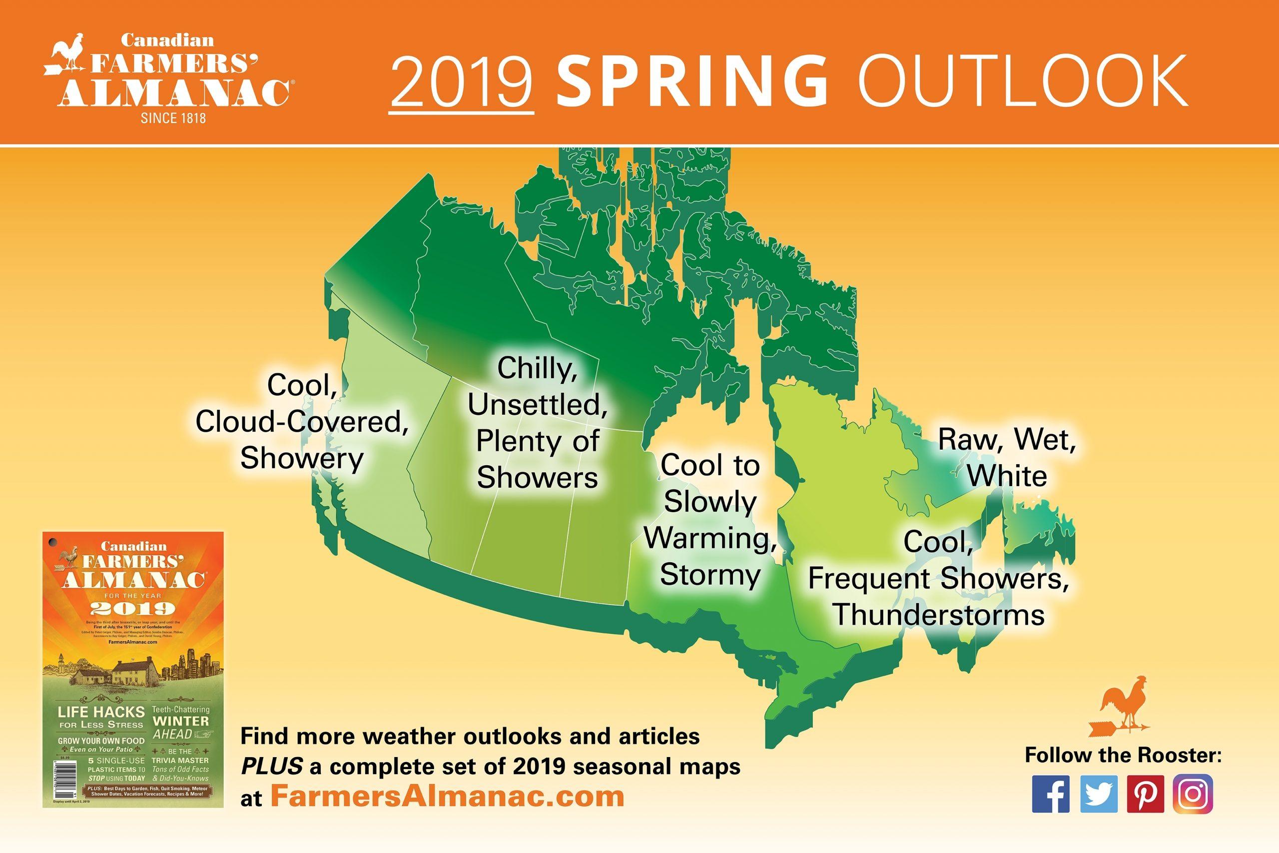 2020 Spring Forecast: Stormy Weather? - Farmers' Almanac