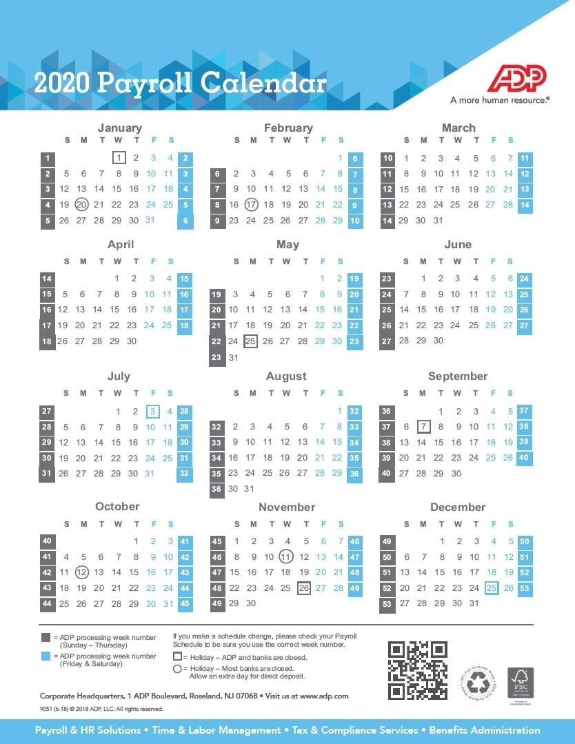 2021 Biweekly Payroll Calendar Canada/Page/2 | Payroll