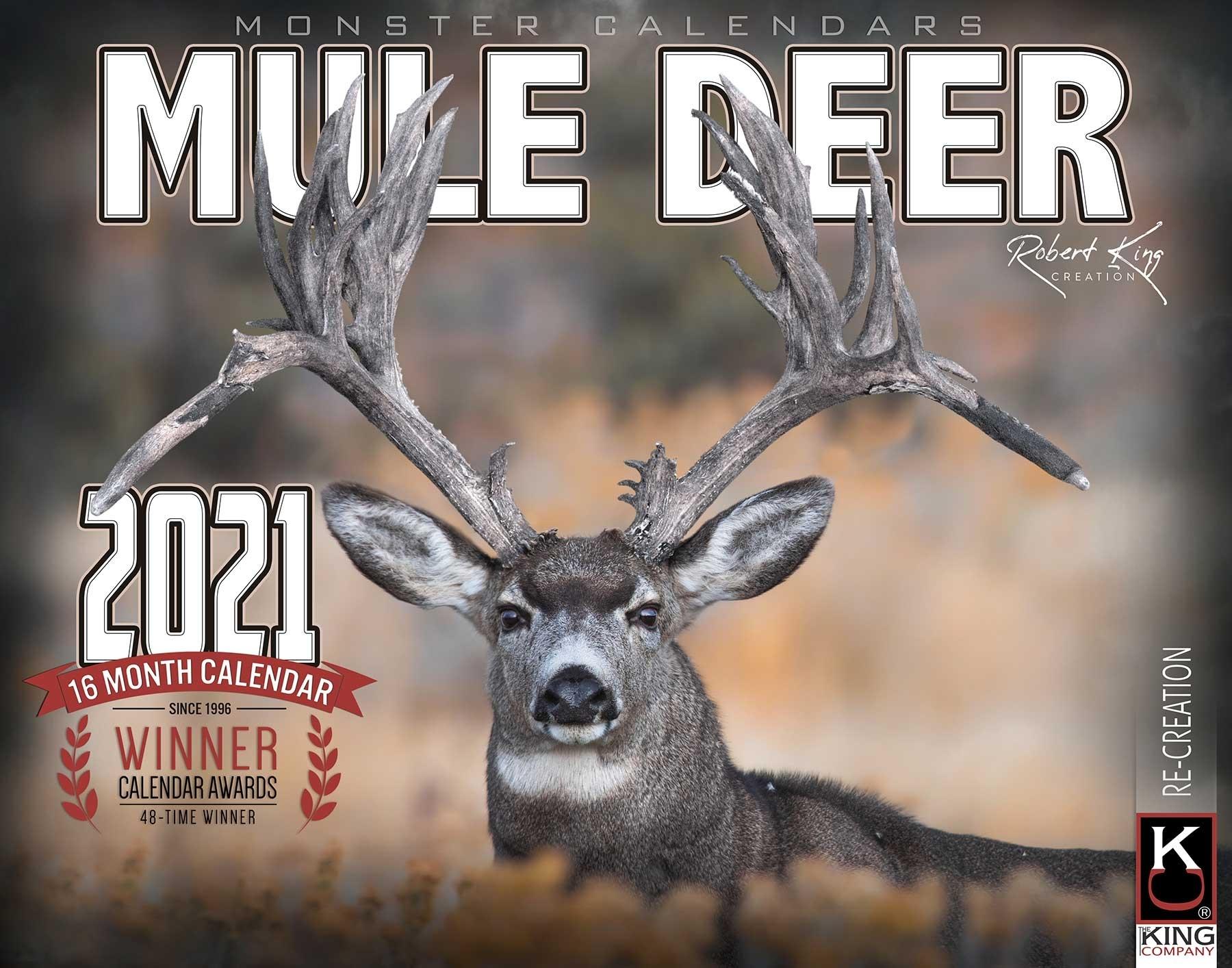 2021 Monster Mule Deer Calendar