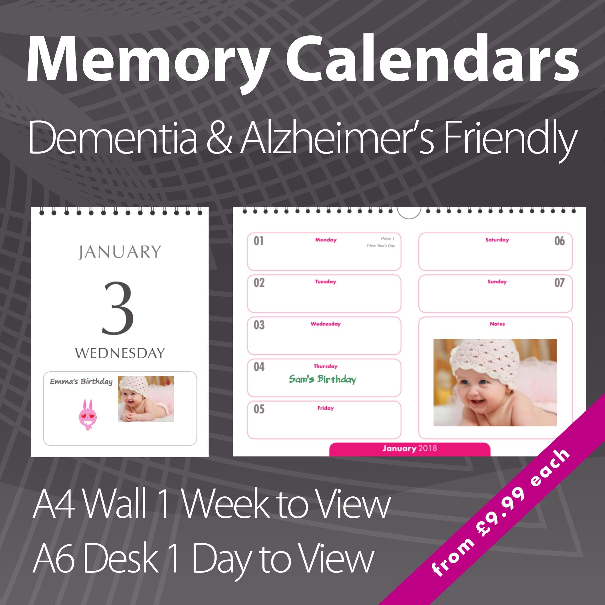 2021 Personalised Calendar Printing | Charity Photo Calendar