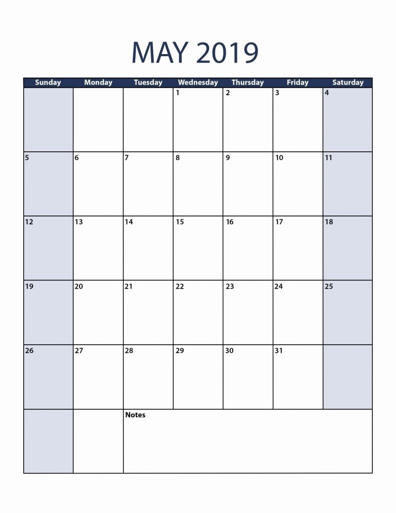 37 Blank Printable Calendar 2019 Laboole::may 2019 Iphone