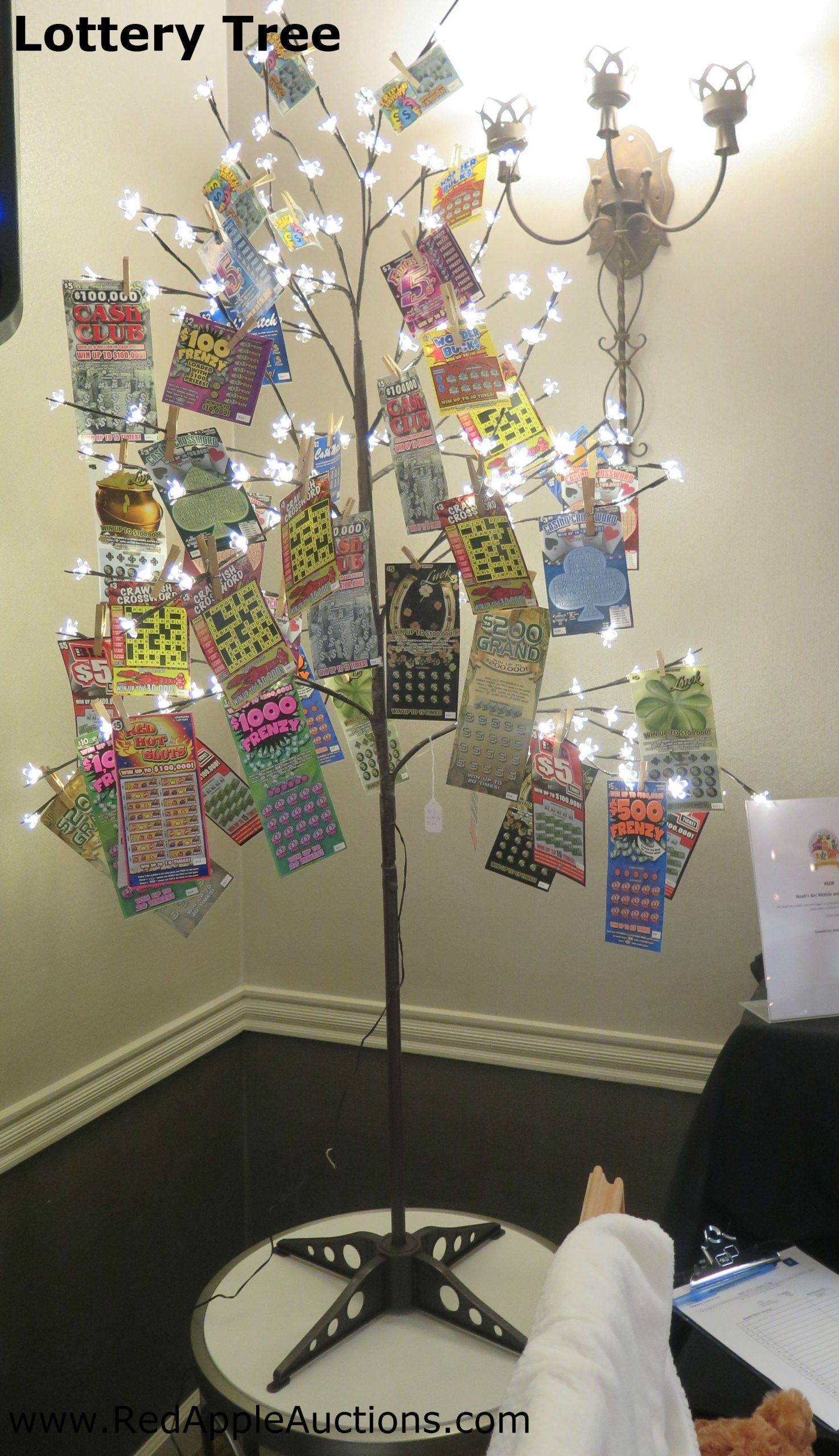 "A ""Lottery Ticket Tree"" Is Popular At Any Fundraising"