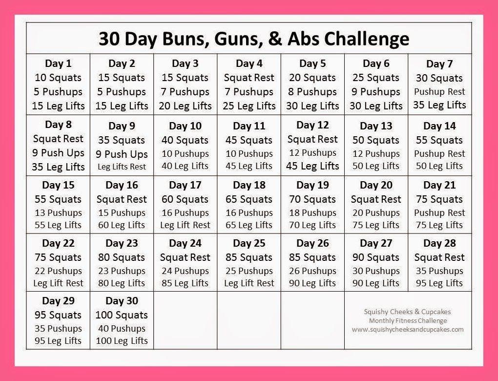 Ab Challenge Calendar Printable New Calendar Template Site