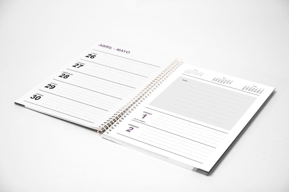 Agendas 2021: Plantillas Indesign Gratis Para Imprimir