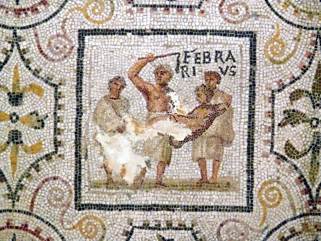 Antigua Roma Al Día On Twitter | Roman Mosaic, Mosaic