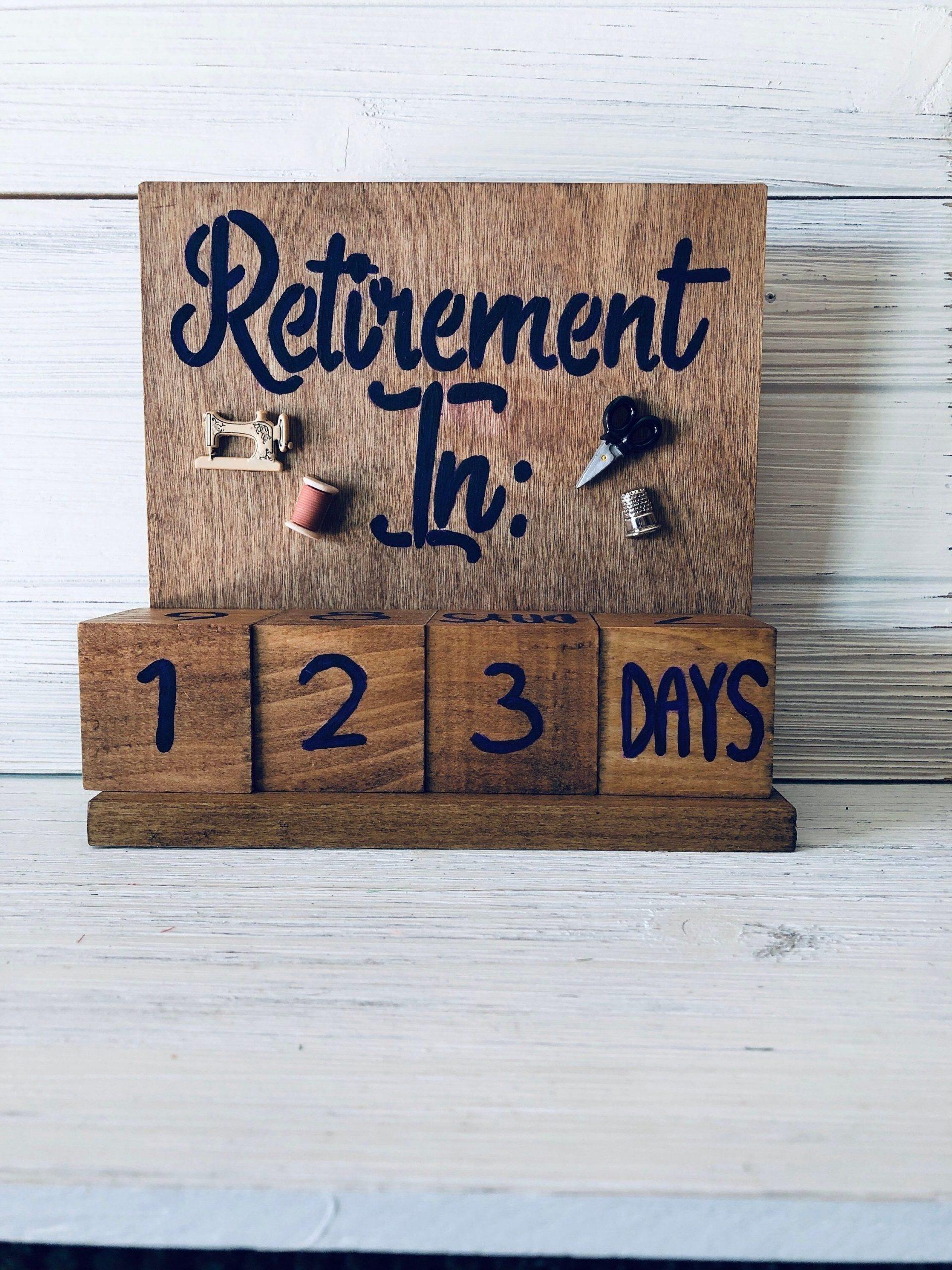 Best Countdown To Retirement Calendar Funny Di 2020