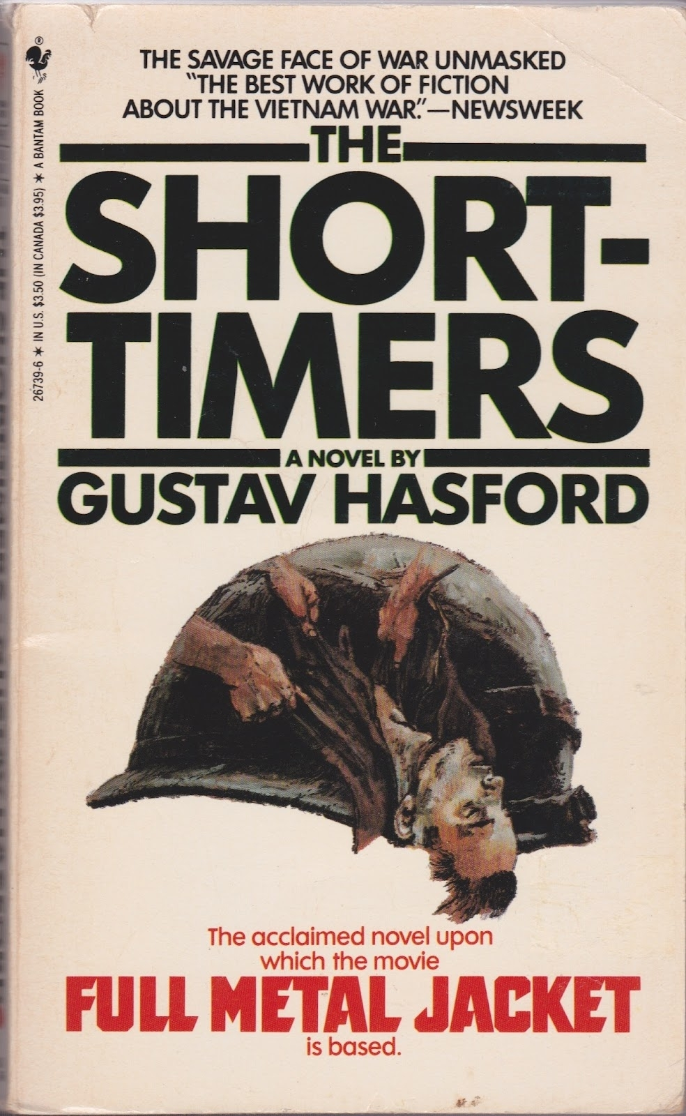 Book Rarities: The Short-Timers By Gustav Hasford