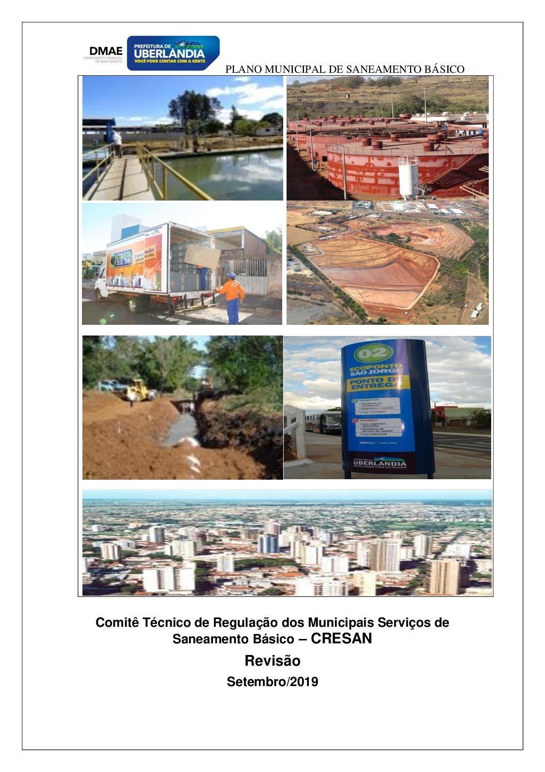 Calaméo - Plano Municipal De Saneamento Básico 2019 ~ Uberlândia