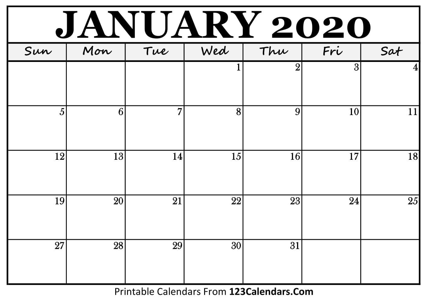Calendar Template You Can Type In In 2020 | Calendar