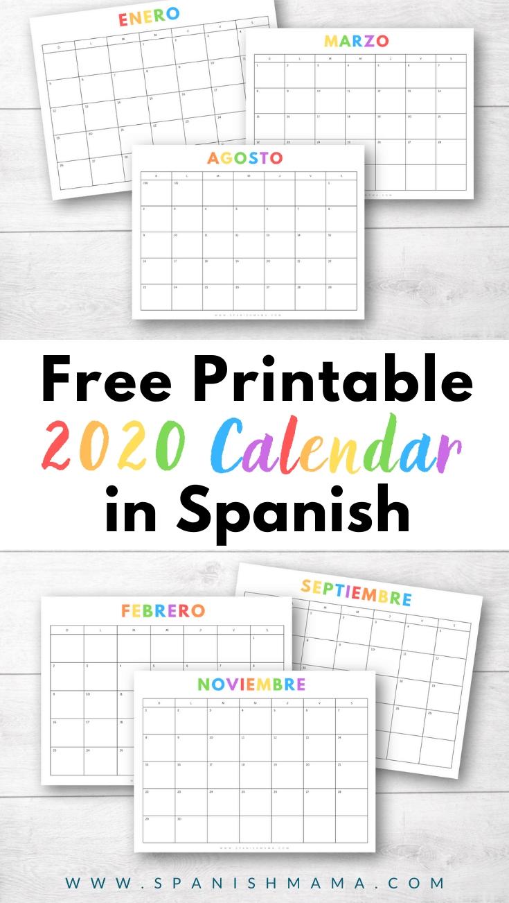 Calendario Para Imprimir Gratis: Free Printible 2019