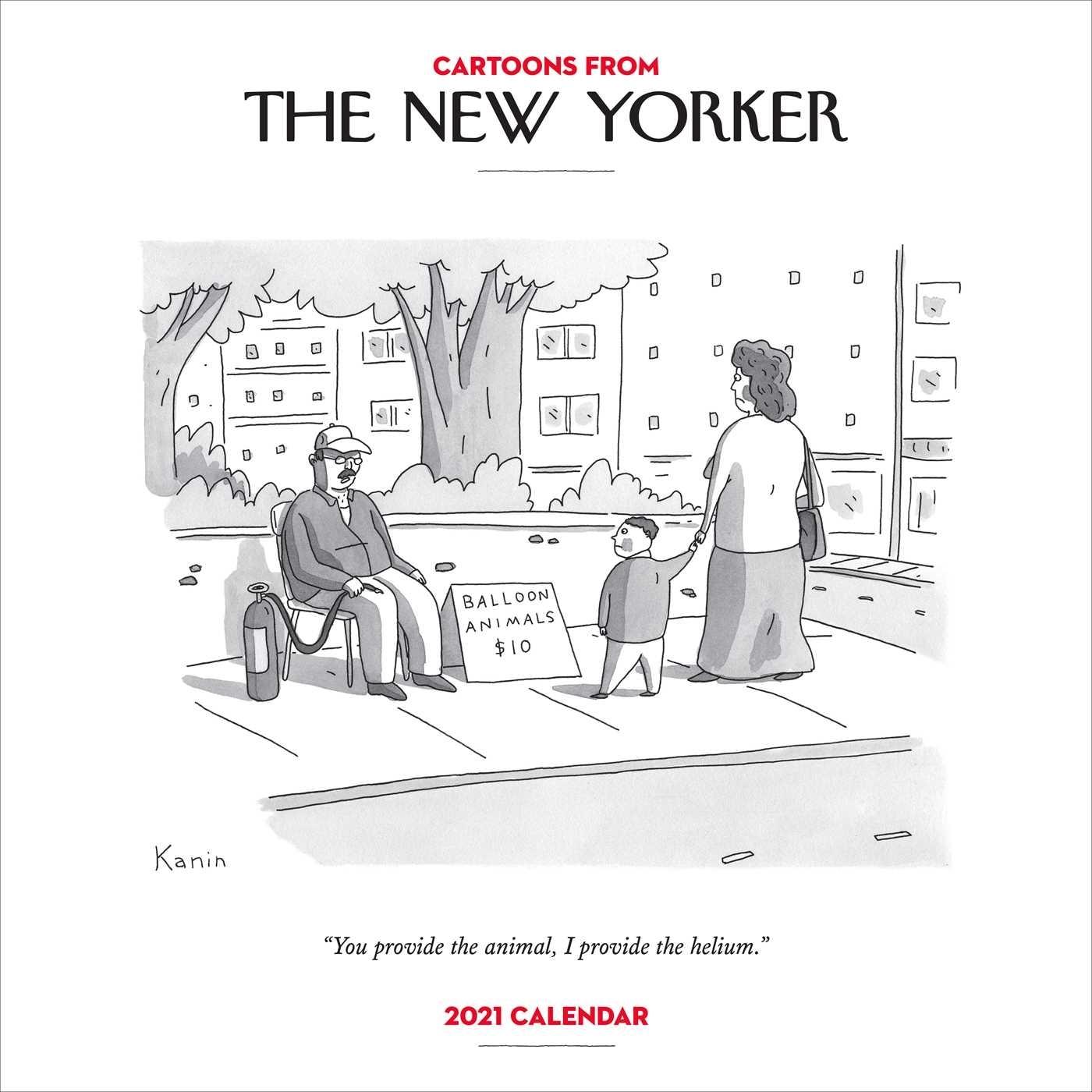 Cartoons From The New Yorker 2021 Wall Calendar - Book