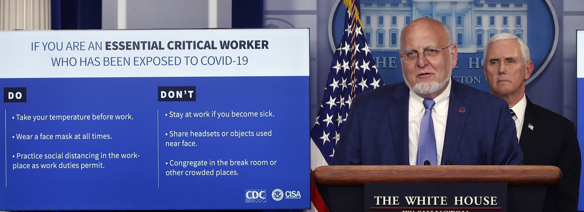 Cdc Eases Guidelines For Essential Workers Who'Ve Been