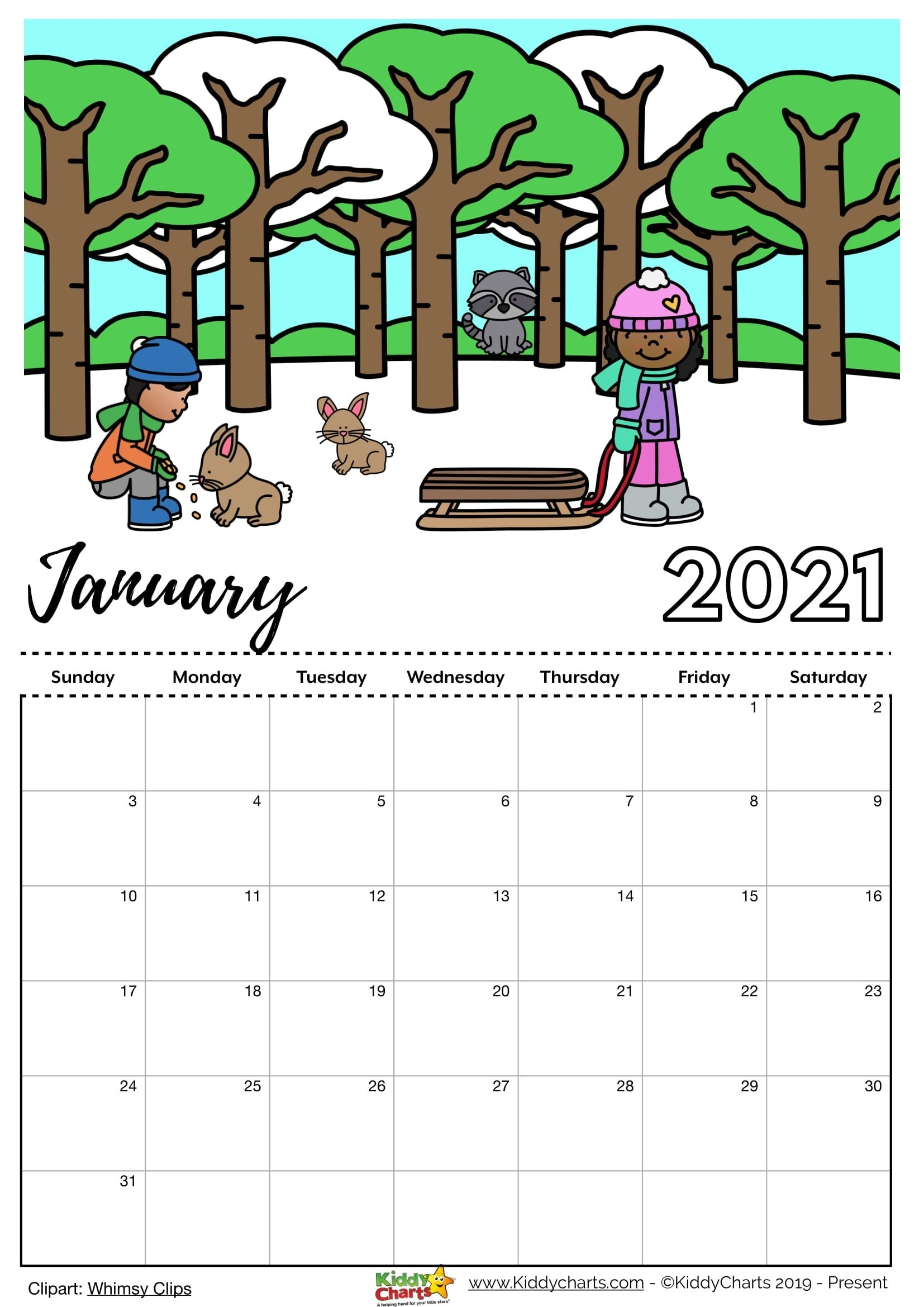 Check Our New Free Printable 2021 Calendar! | Calendar