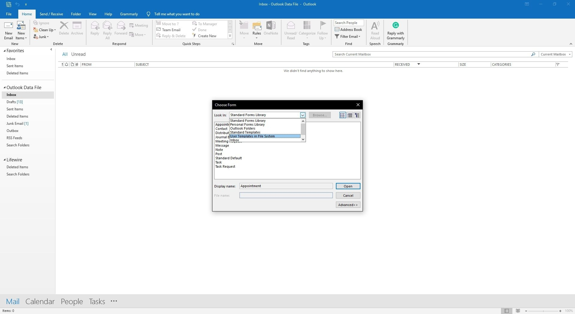Create And Use Email Templates In Outlook