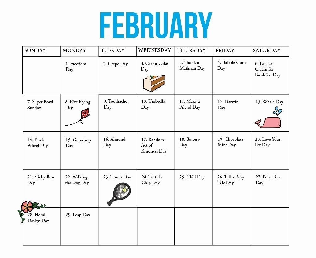 Create Your 28 Day Expiration Date Calendar | National Day