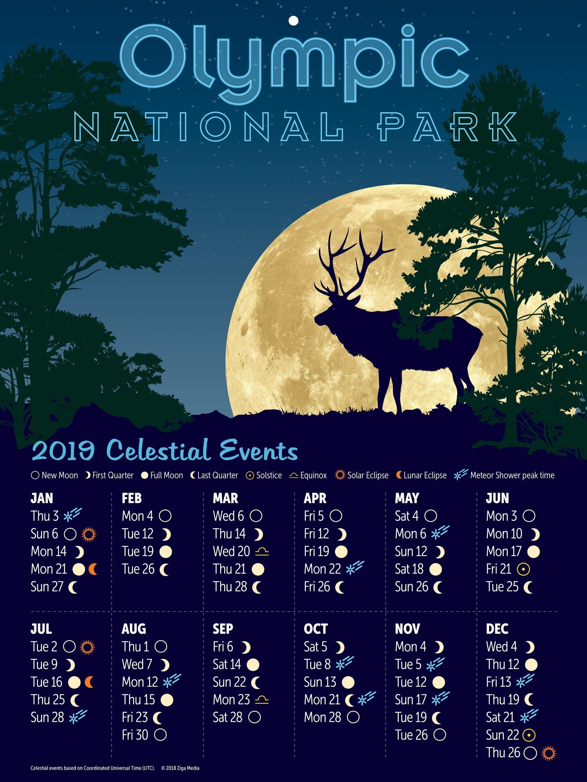 Deer Moon Phase Chart - The Future