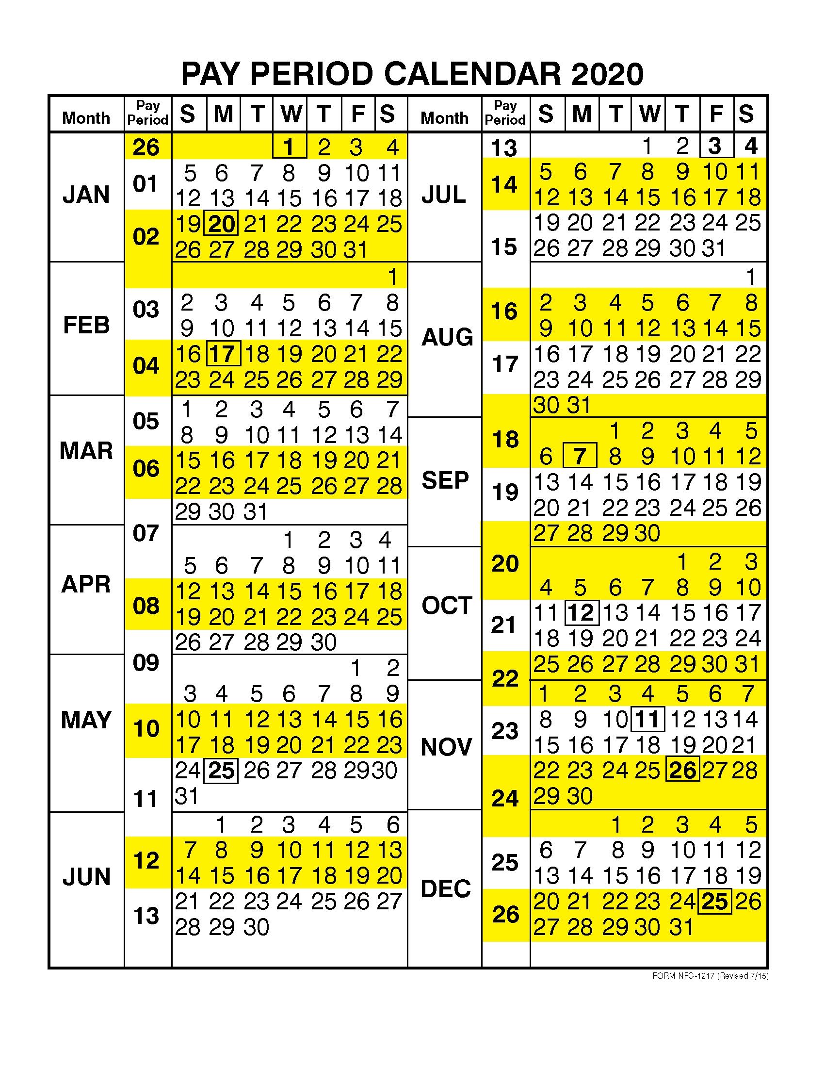 Dfas Payroll Calendar 2021 | 2021 Pay Periods Calendar