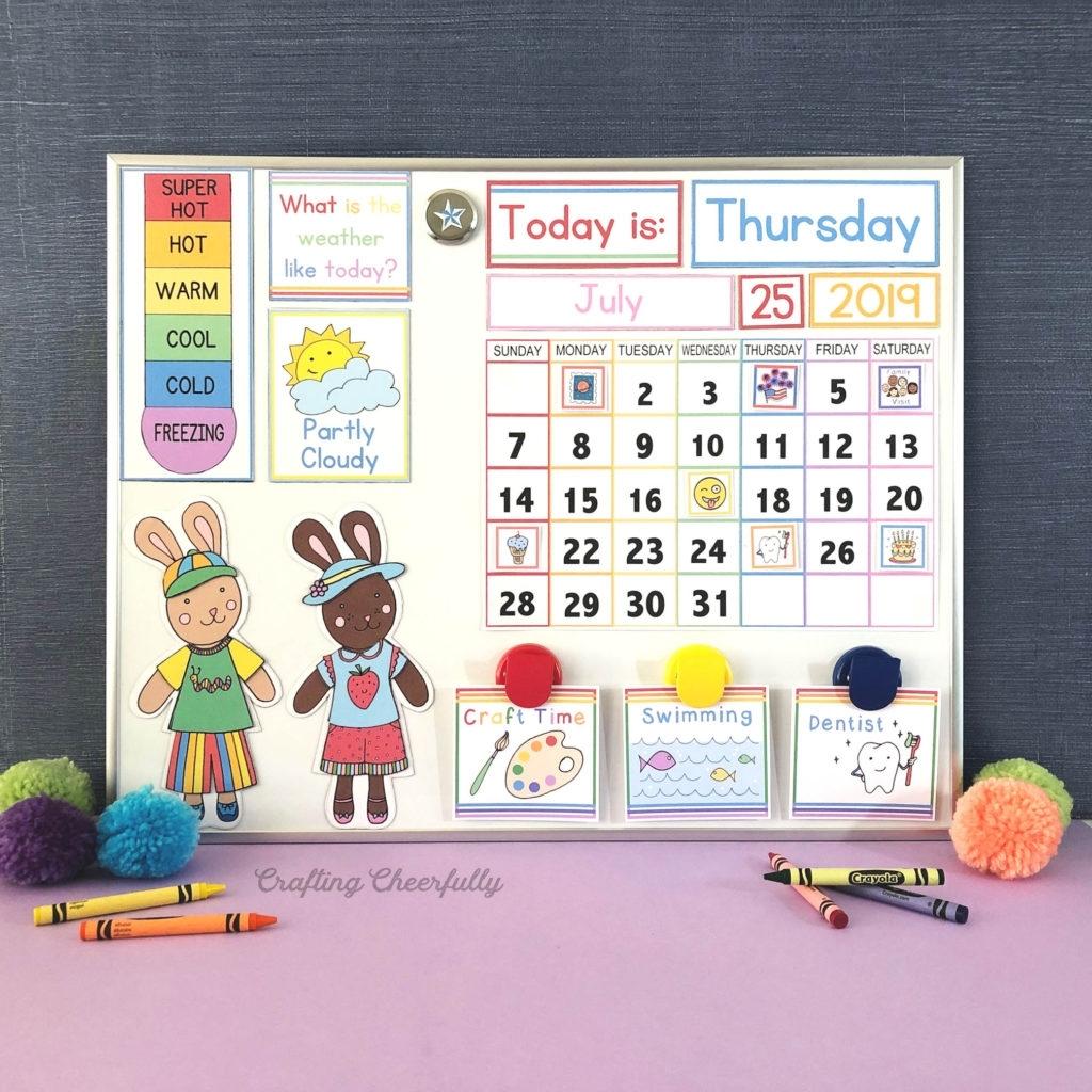 Diy Children'S Calendar How To Create A Handmade Calendar