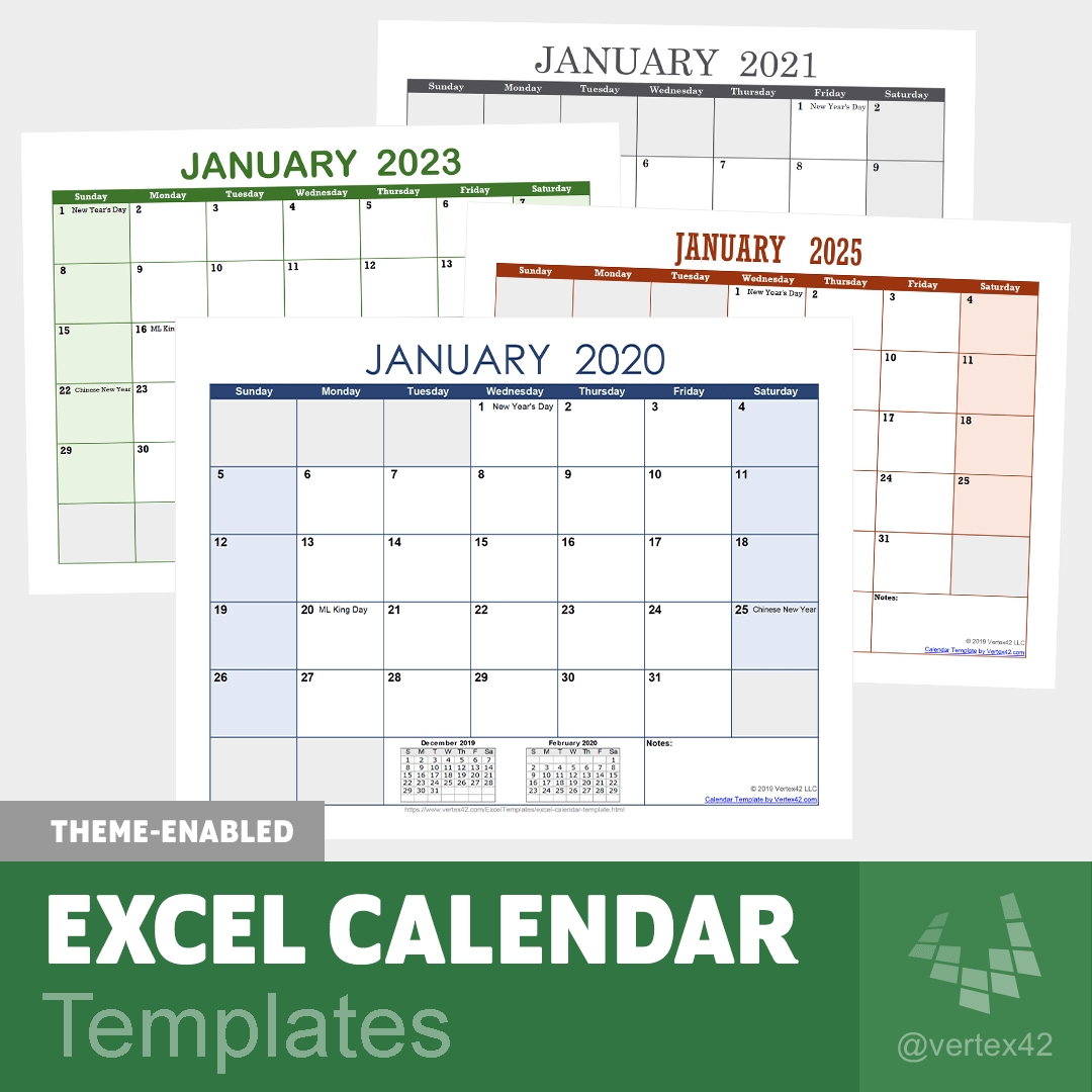 Download Calendar Template In Excel 1 Solid Evidences