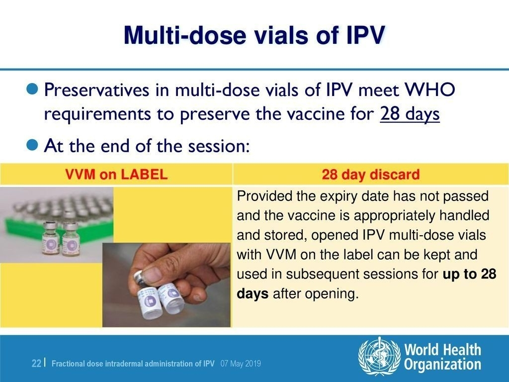 Effective 28 Day Multi Dose Vial Expiration Date In 2020