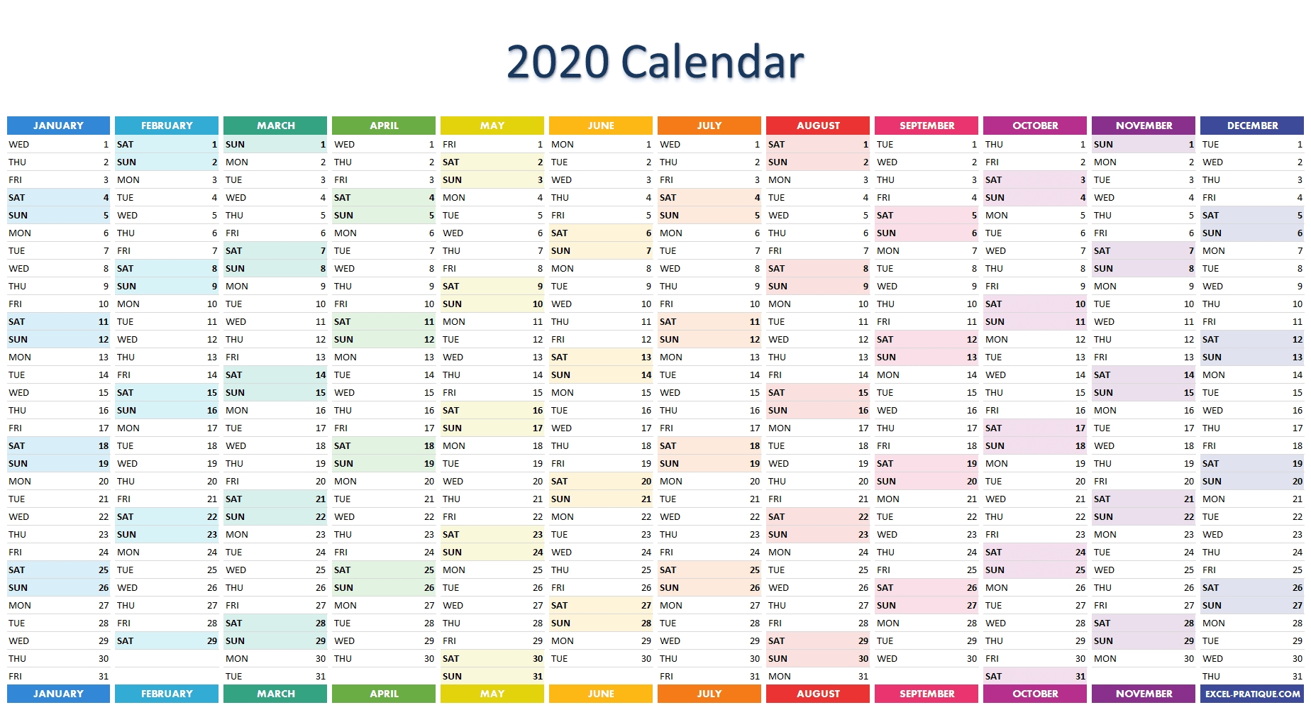 "Excel Applications ""Calendars"""