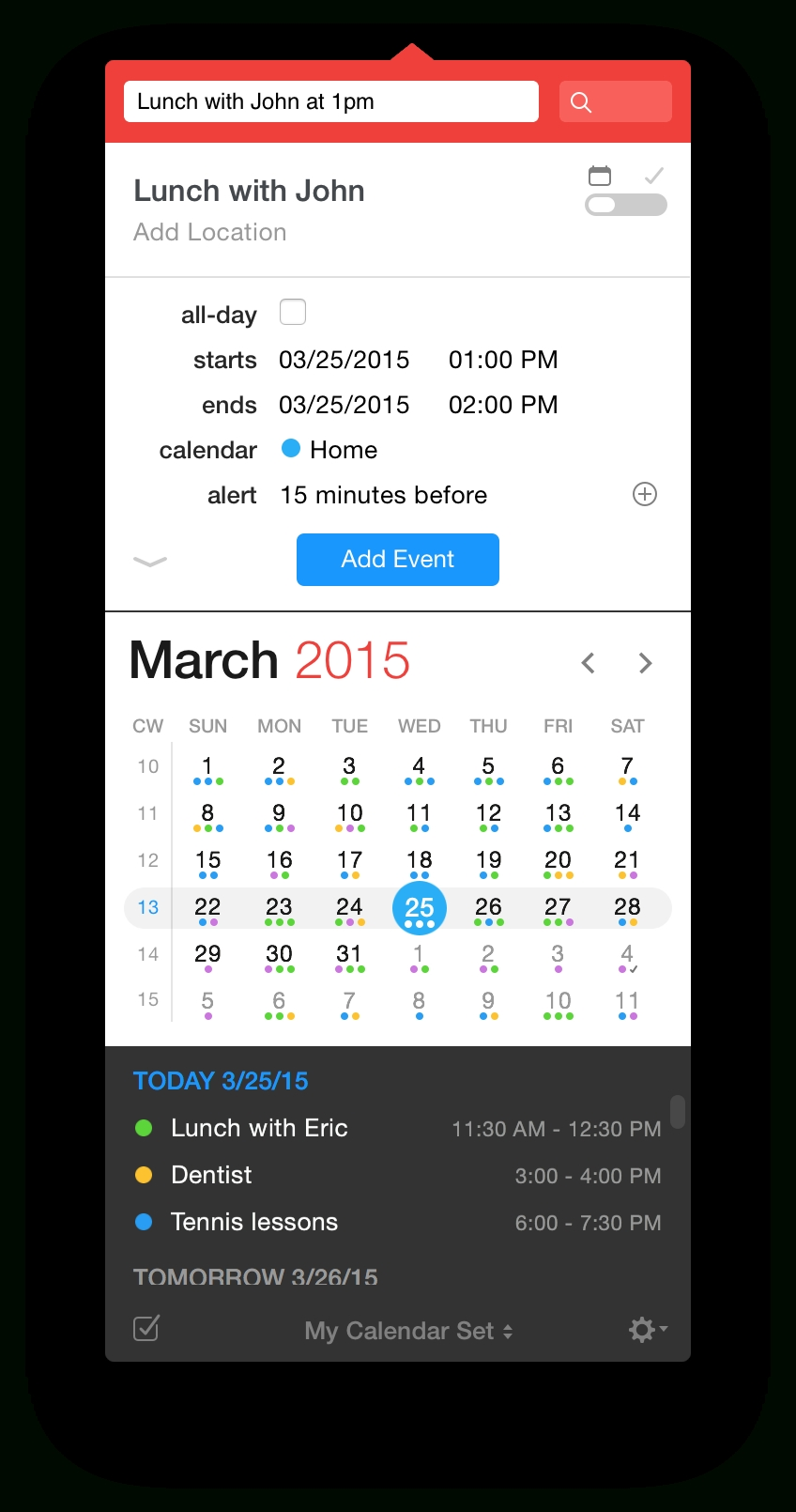 Fantastical 2 Is A Crazy-Powerful Calendar App For Your Mac
