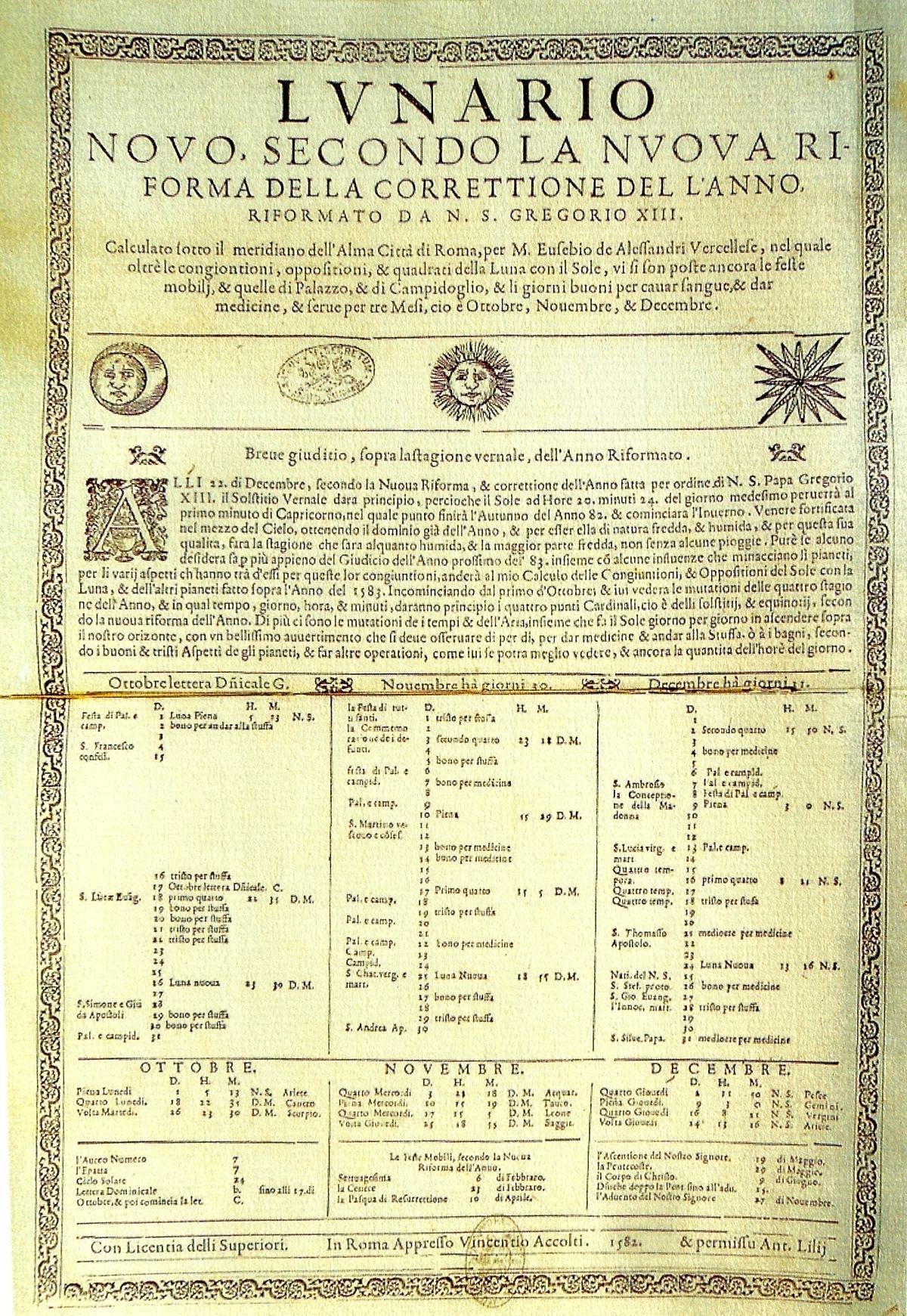 File:reforma Gregoriana Del Calendario Juliano - Wikipedia