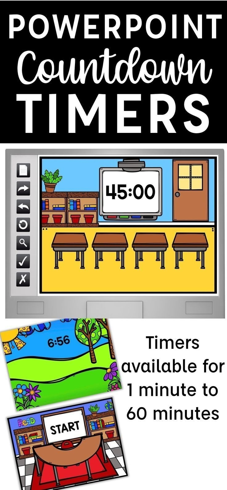Free 6 Month Short Timer Calandr In 2020 | Classroom