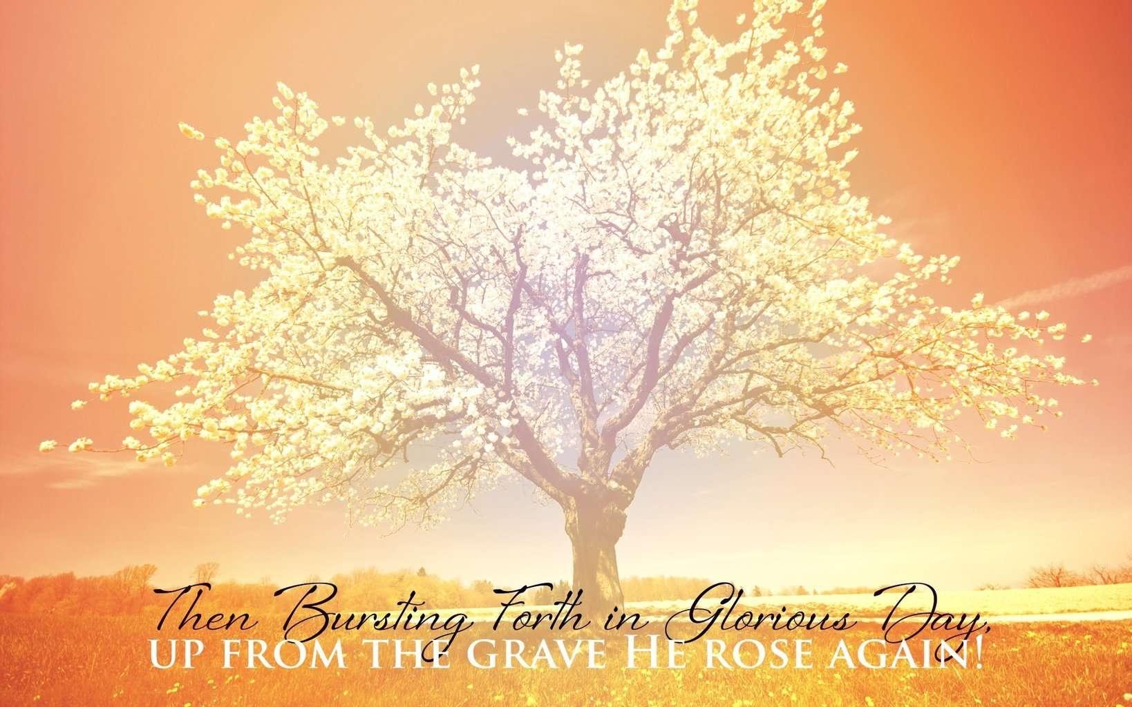 Free Christian Desktop Calendar Wallpaper-56U8U1S - Easter