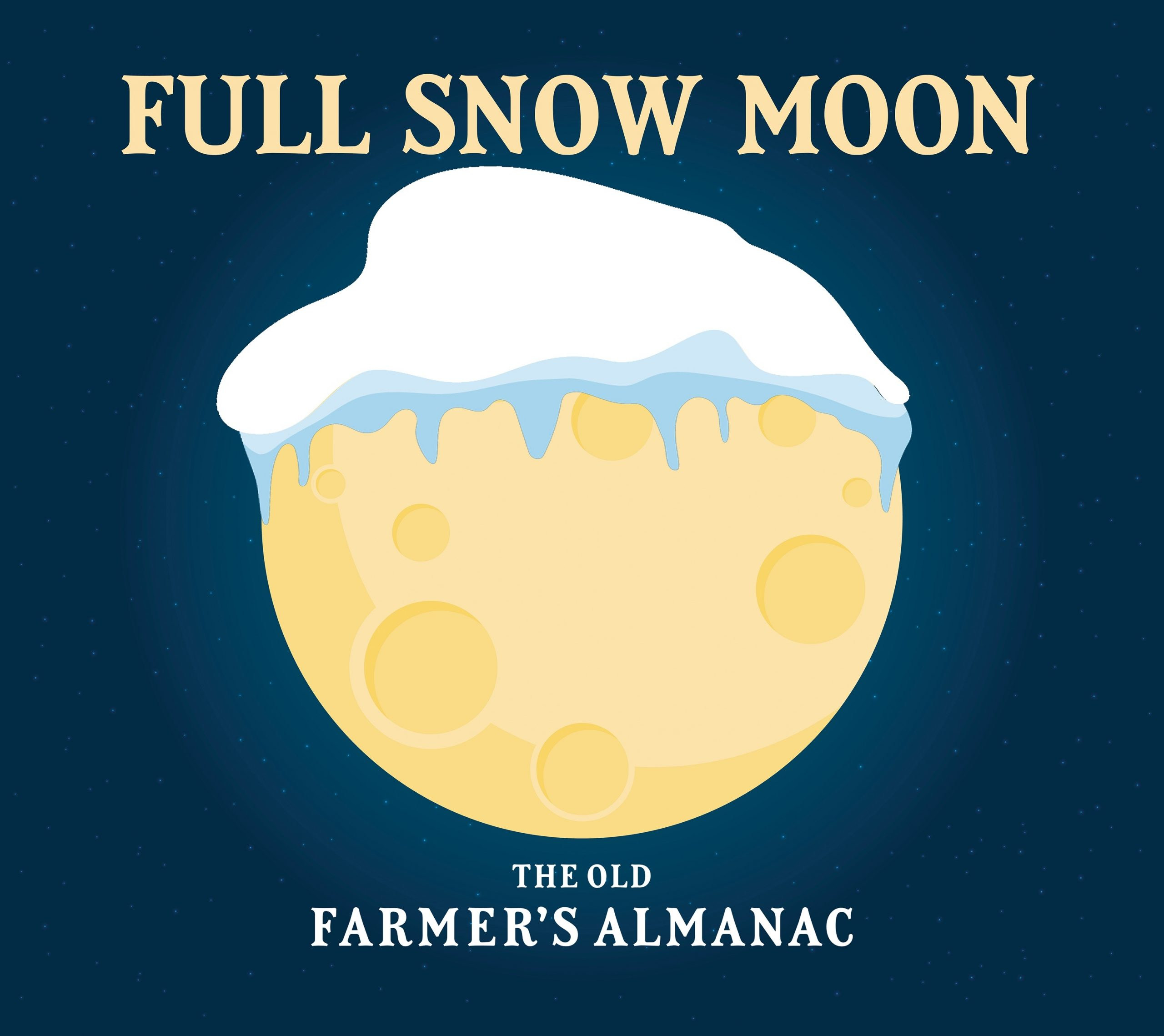 Full Moon In February 2020: See The Full Snow Moon | The Old