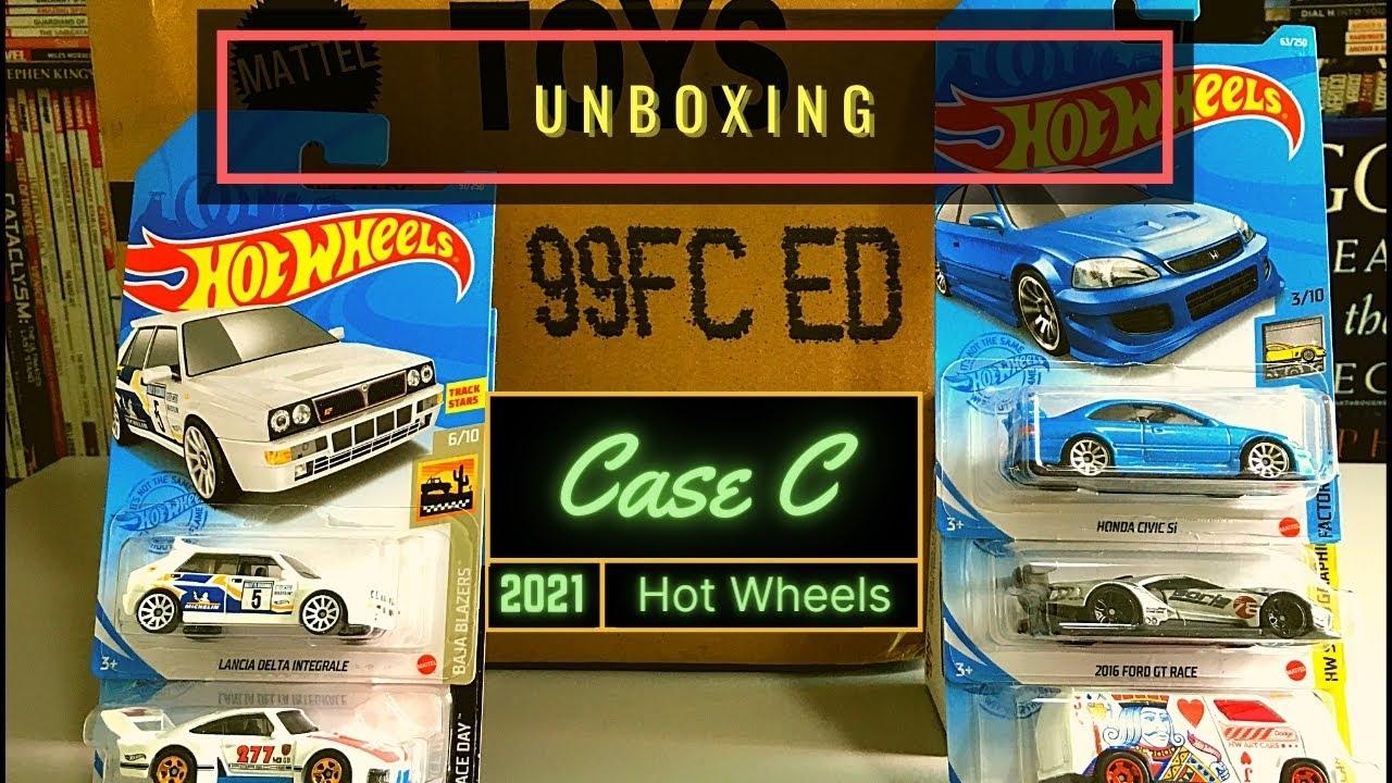 "Hot Wheels 2021 Mainline ""C"" Case Unboxing – Orange Track"