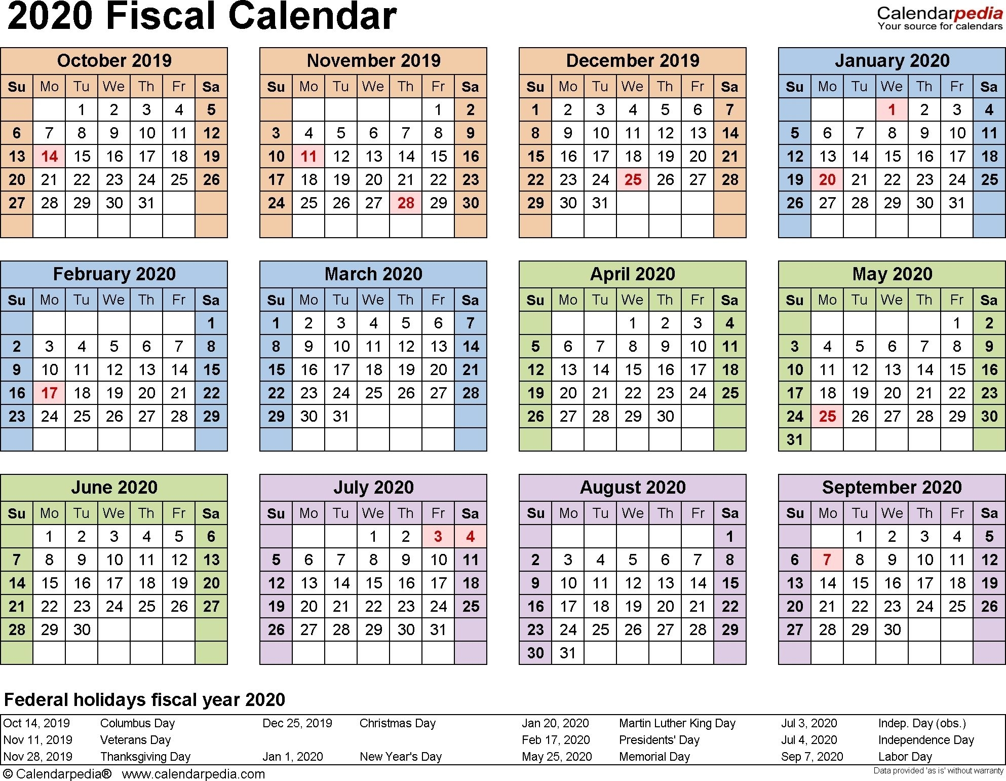 Incredible 2020 Federal Leave Calendar In 2020 | Payroll