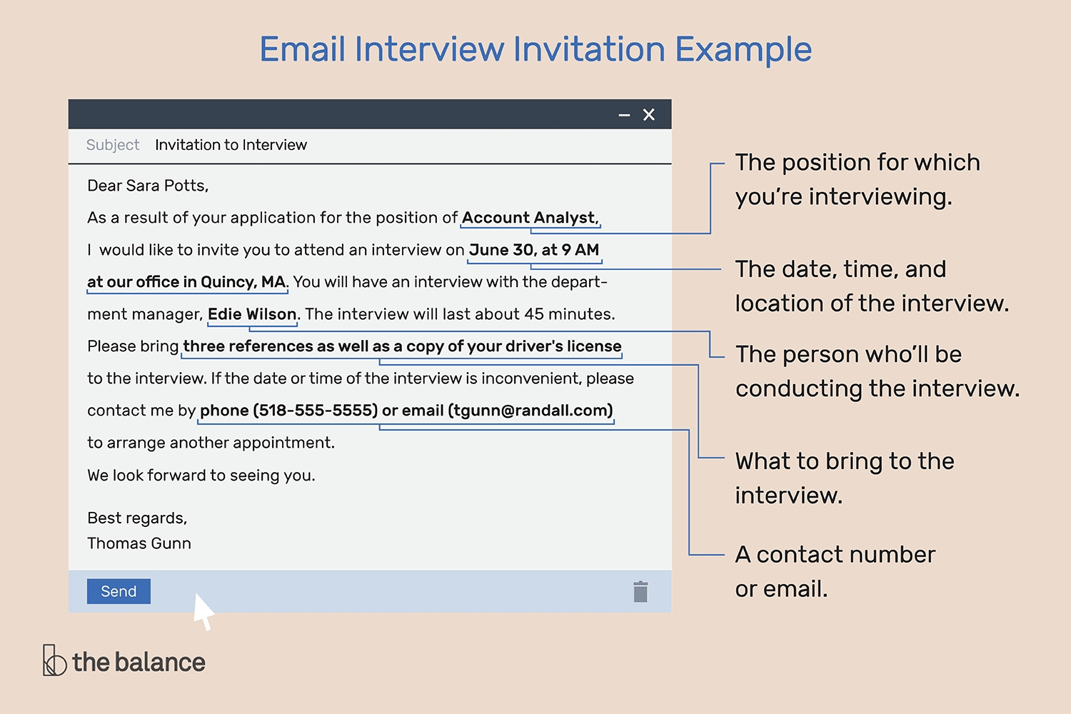 Interview Invitation Email And Response Examples