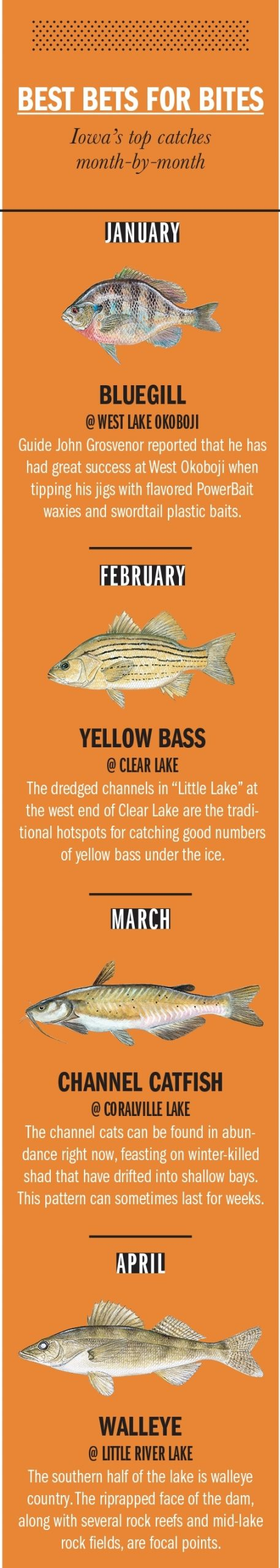 Iowa Fishing Calendar