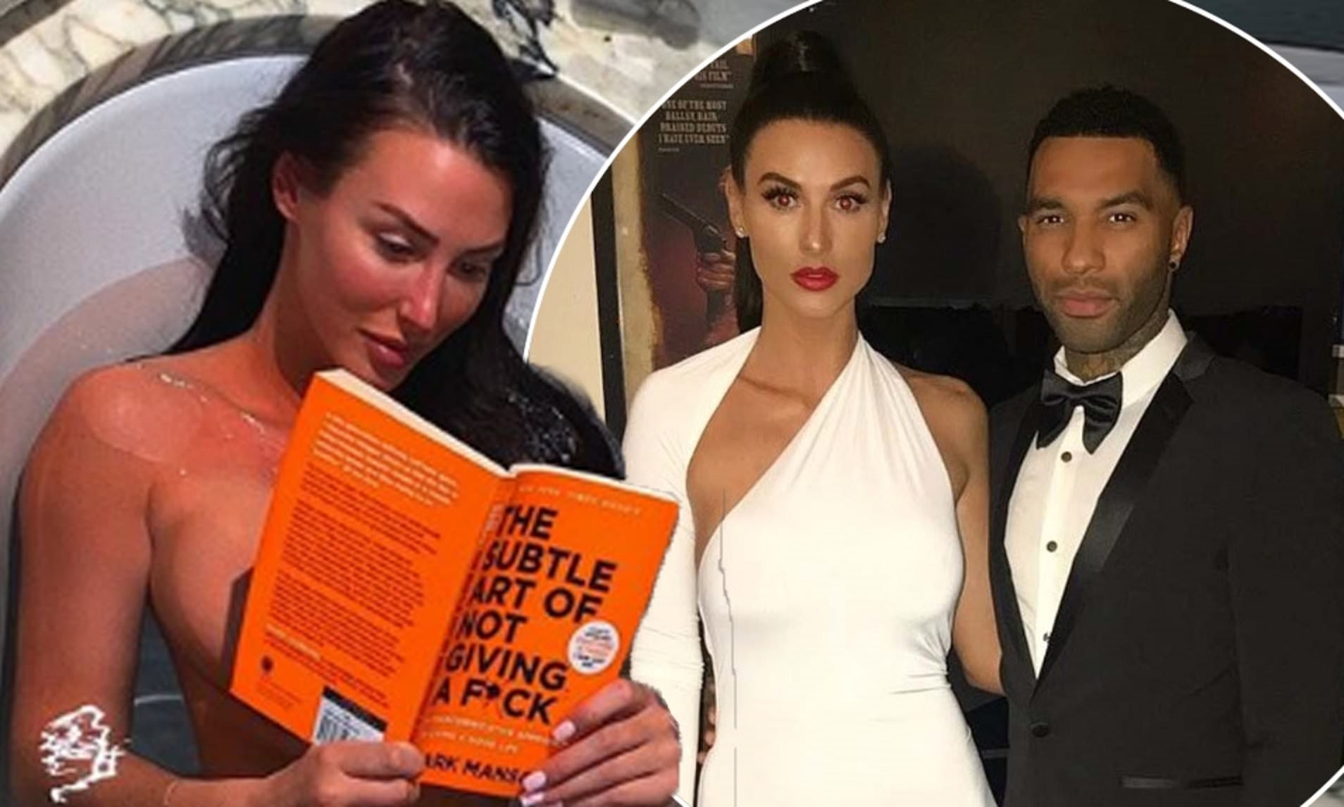 Jermaine Pennant'S Ex Alice Goodwin Poses Naked Amid Self