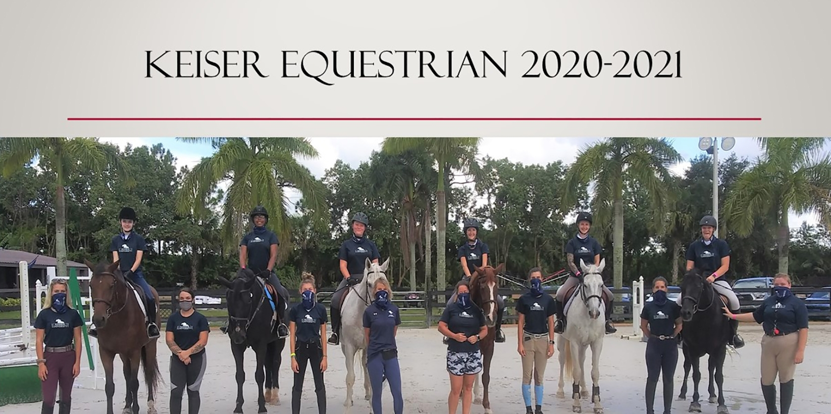 Keiser University Equestrian Students Prepare For An